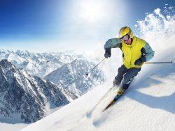RG: катание на лыжах